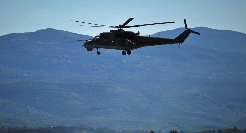 Ruský vrtulník Mi-24