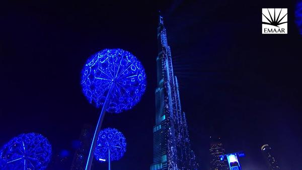 Novoroční světelné show: působivé i na videu - Sputnik Česká republika