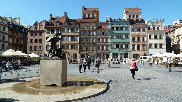Staré město ve Varšavě - Sputnik Česká republika