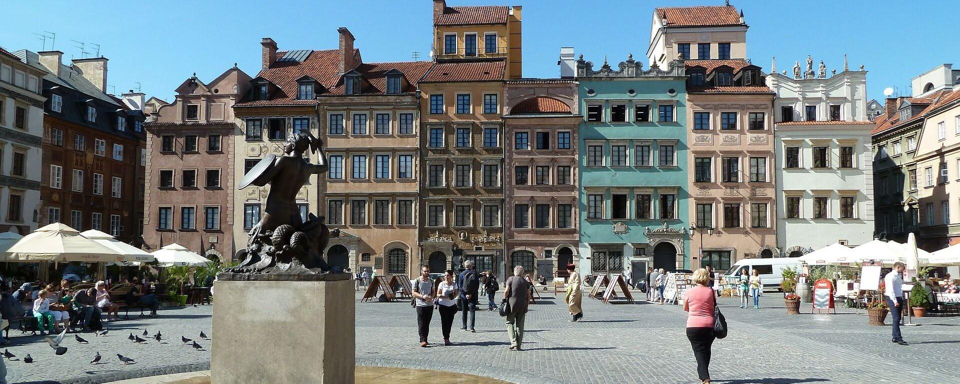 Staré město ve Varšavě - Sputnik Česká republika, 1920, 10.06.2021