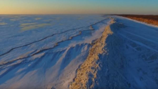 Rusko a Čínu rozdělila ledová zeď - Sputnik Česká republika