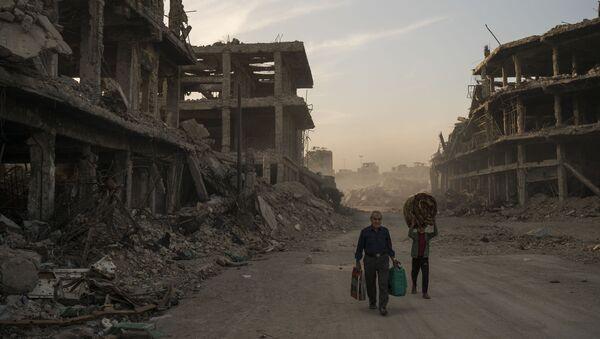 Co se stalo s Mosulem po třech letech války - Sputnik Česká republika