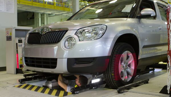 V závodě se vyrábí Škoda Yeti - Sputnik Česká republika