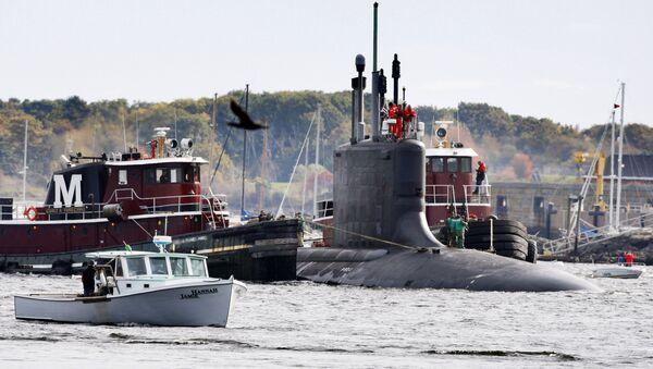 Americká ponorky třídy Virginie. Ilustrační foto - Sputnik Česká republika