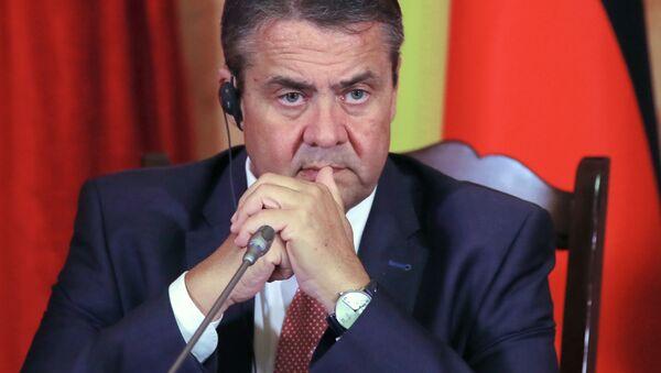 Německý ministr zahraničních věcí Sigmar Gabriel - Sputnik Česká republika
