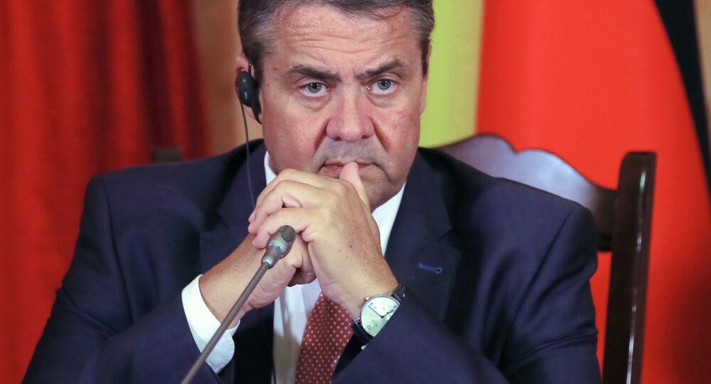 Německý ministr zahraničních věcí Sigmar Gabriel