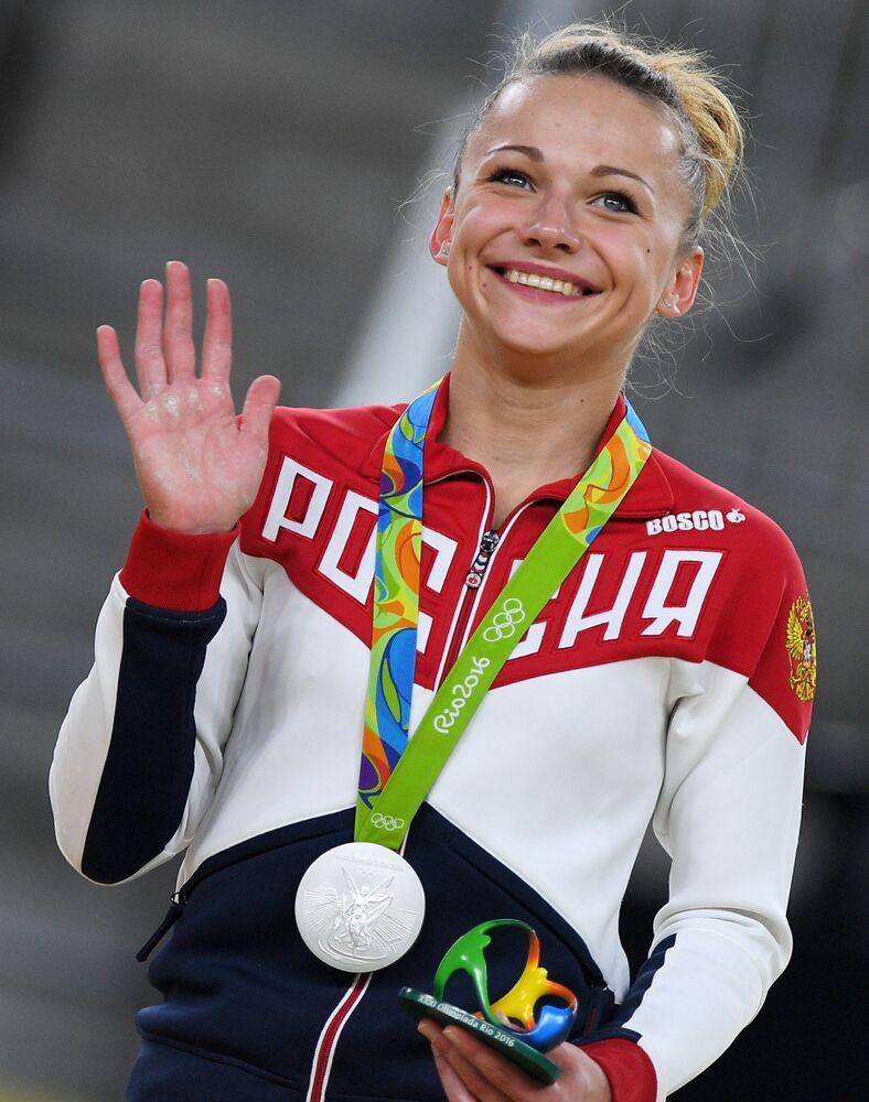 Ruská gymnastka Maria Paseka