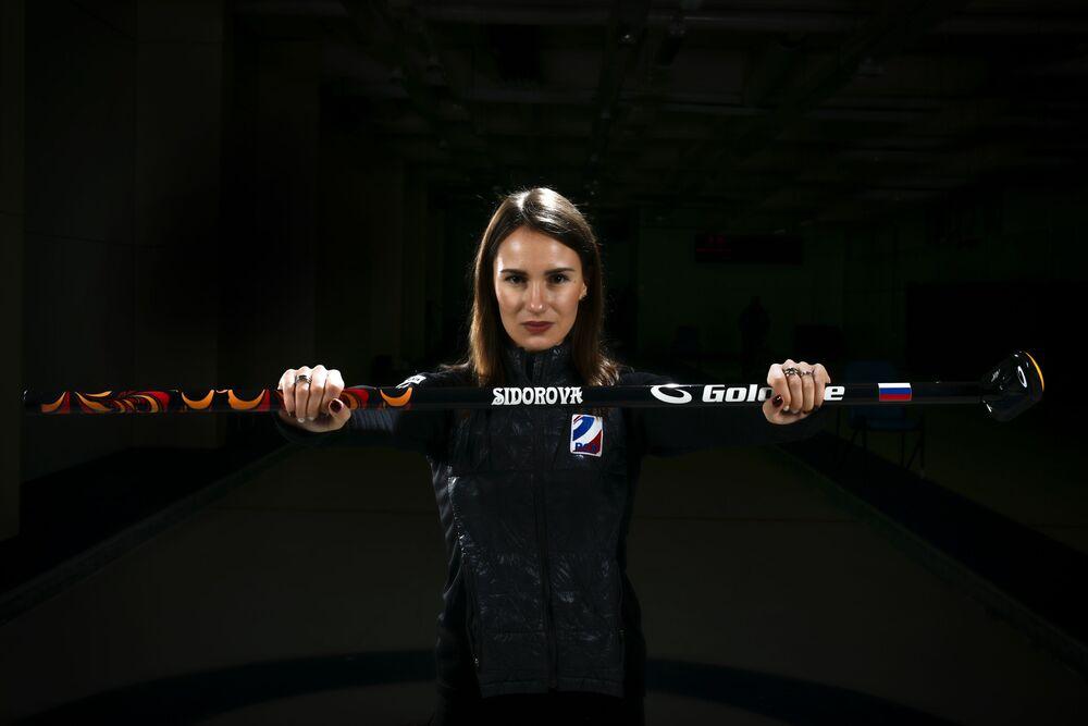 Ruská curlerka Anna Sidorovová