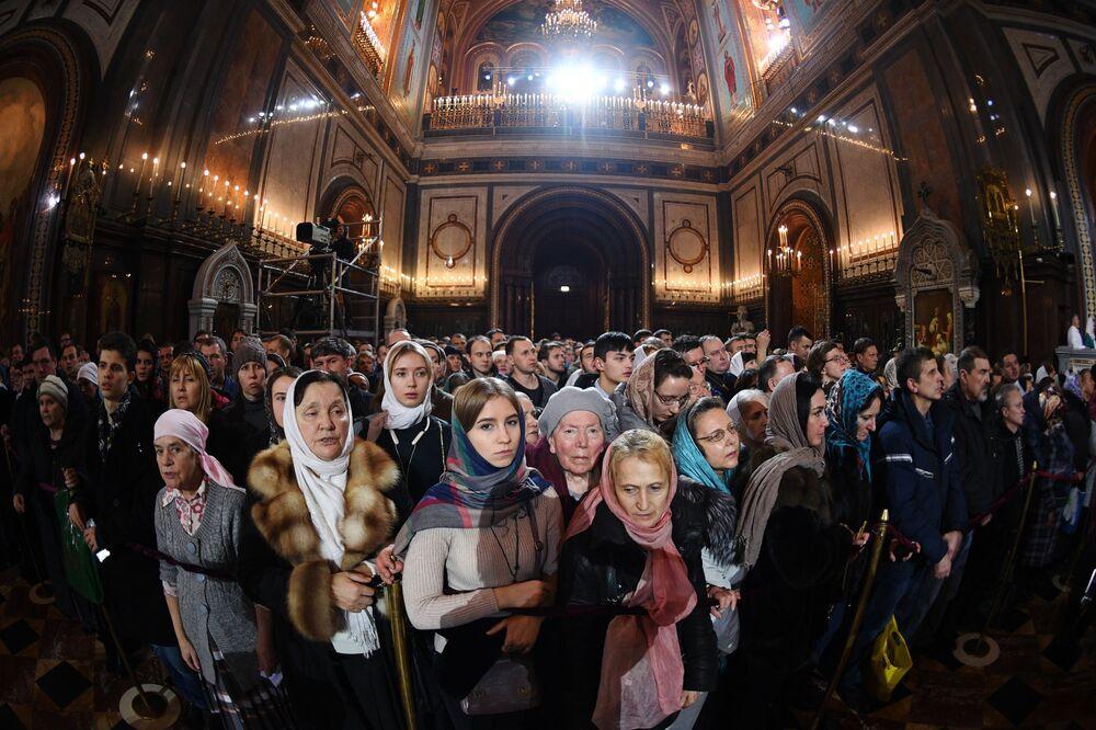 Vánoční oslavy v Rusku