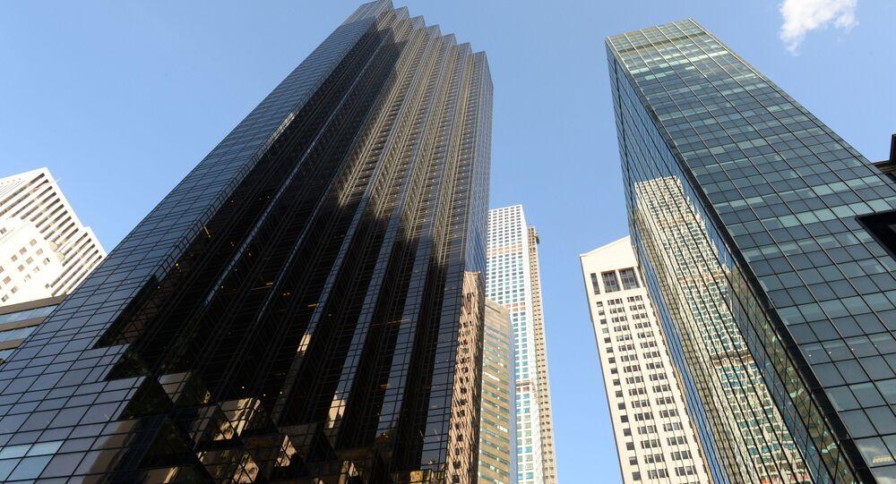 Trump Tower (zleva)