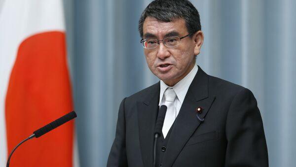 Ministr zahraničí Japonska Taro Kono - Sputnik Česká republika