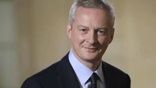 Francouzský ministr ekonomiky a financí Bruno Le Maire - Sputnik Česká republika