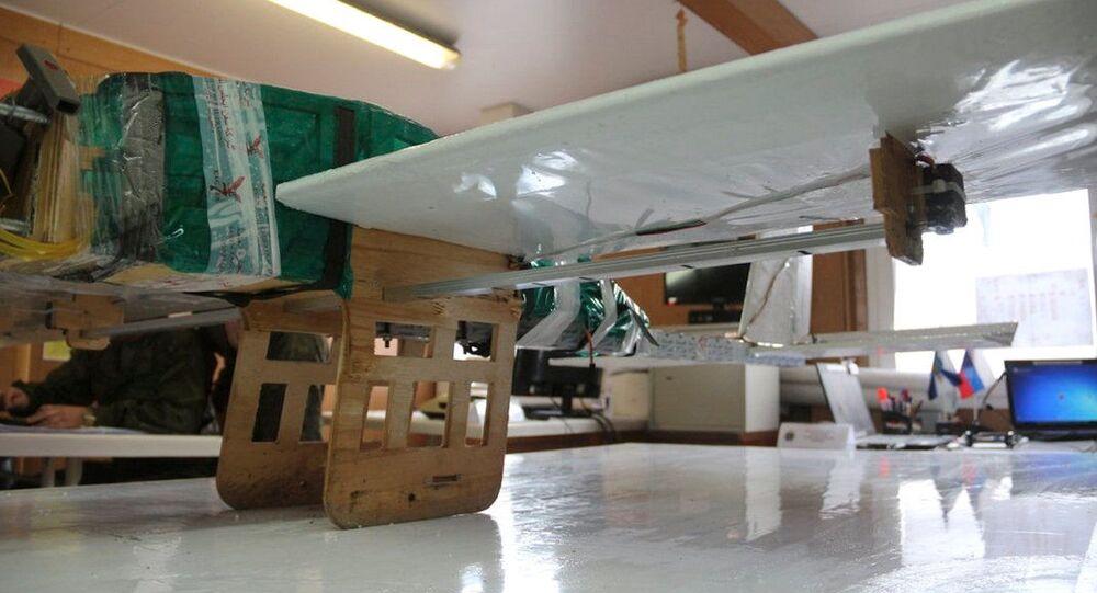 Dron teroristů, který byl použit k útokům na základny v Hmeimimu a Tartusu