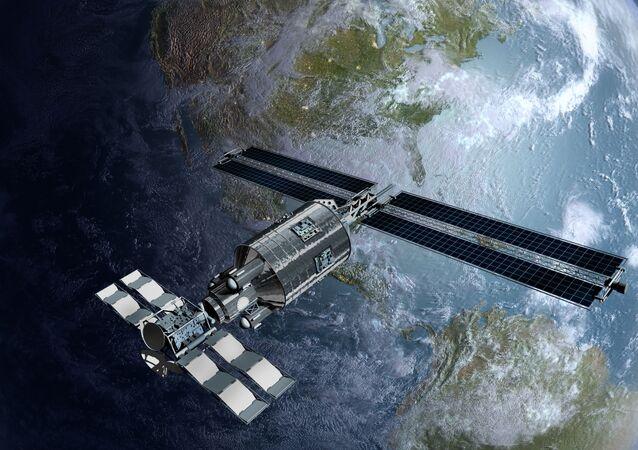 Družice na obězné dráze Země