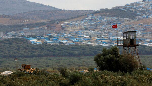 Hranice Turecka a Sýrie - Sputnik Česká republika