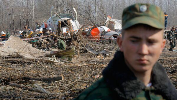 Na místě havárie Tu-154 u Smolenska - Sputnik Česká republika