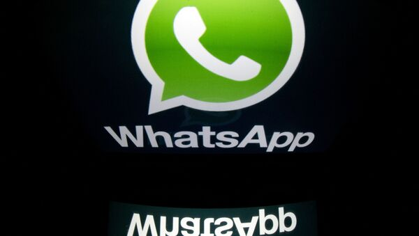 Logo Whatsapp - Sputnik Česká republika