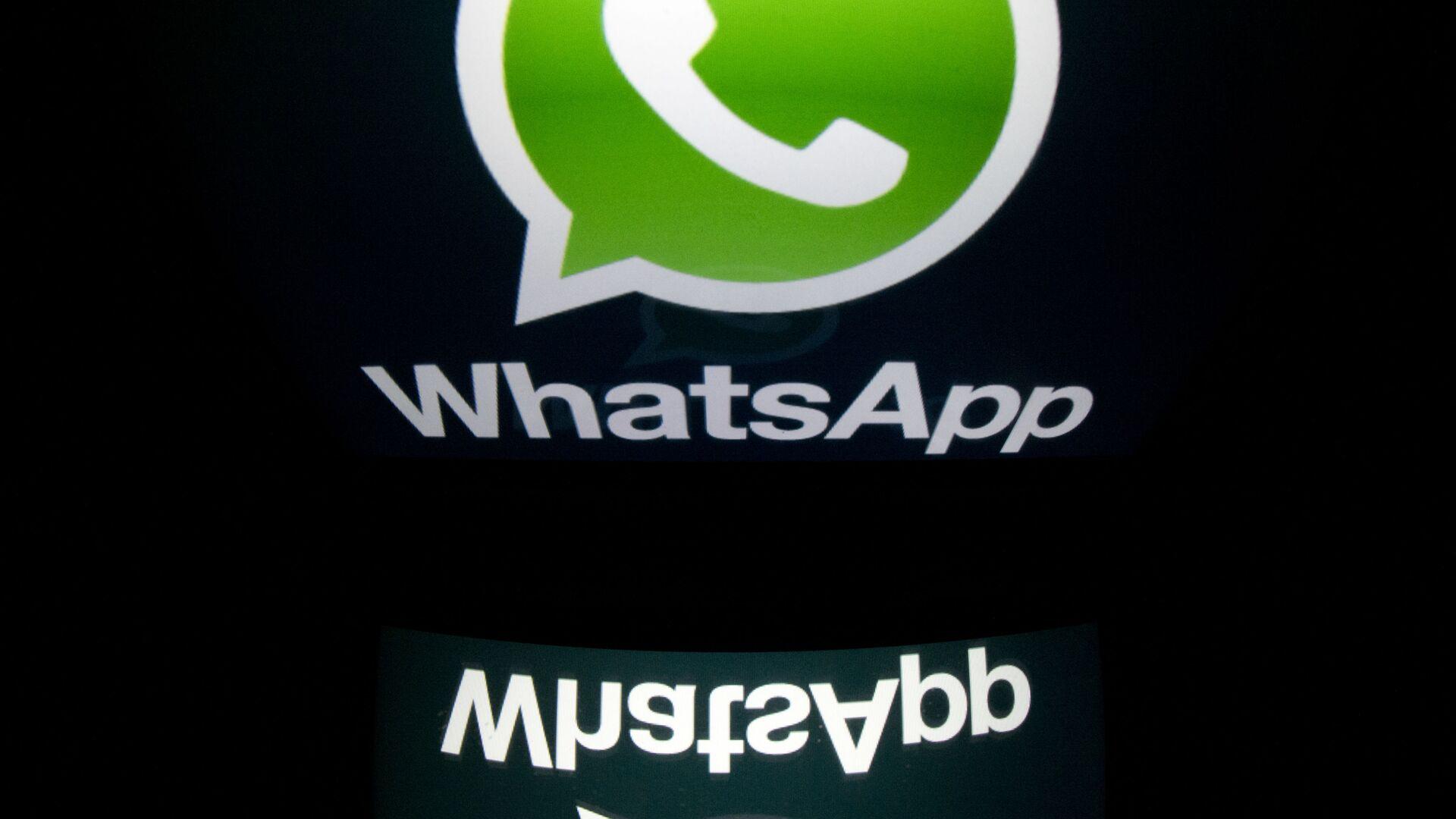 Logo společnosti WhatsApp - Sputnik Česká republika, 1920, 20.05.2021