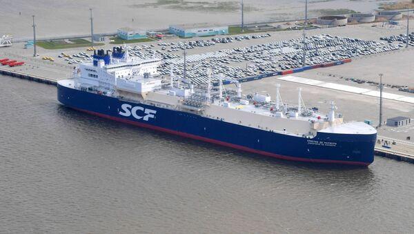 Tanker Christophe de Margerie - Sputnik Česká republika