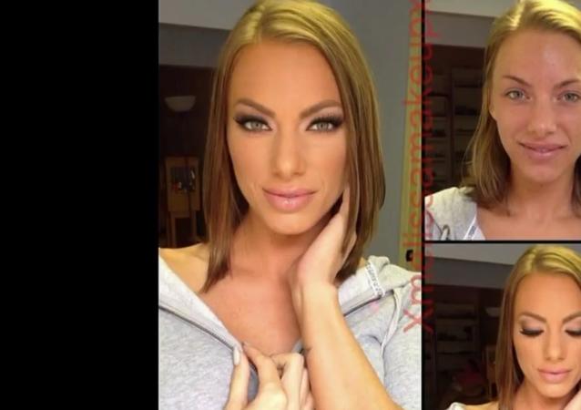 Kryt sňat: jak vypadají pornoherečky bez make-upu