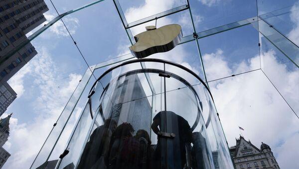 Obchod Apple v New Yorku - Sputnik Česká republika