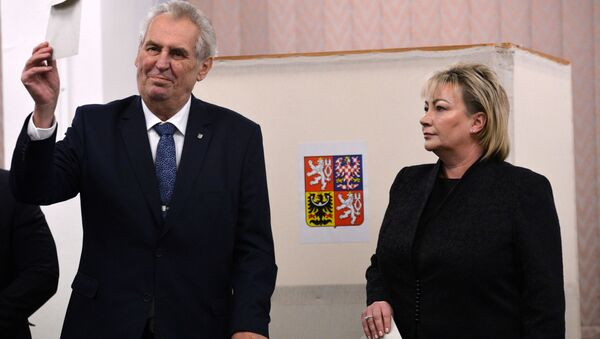 Český prezident Miloš Zeman - Sputnik Česká republika