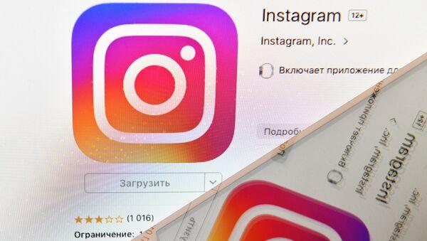 Ikonka sociální sítě Instagram - Sputnik Česká republika