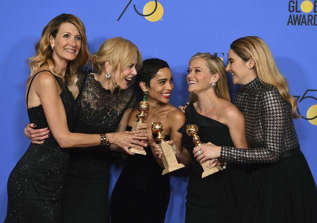 Herečky Laura Dern, Nicole Kidman, Zoe Kravitz, Reese Witherspoon a Shailene Woodley