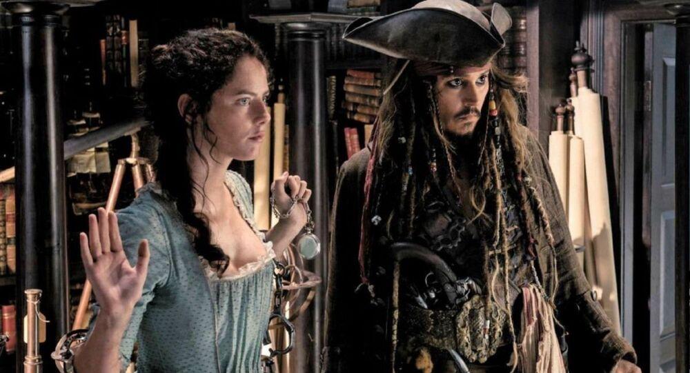 Fragment z filmu Piráti z Karibiku