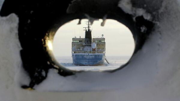 Tanker Valetta vedle mysu Kamennyj - Sputnik Česká republika