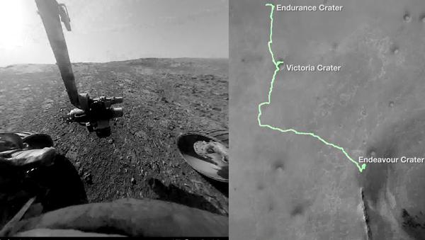 Putování na Marsu očima kosmického přístroje Opportunity - Sputnik Česká republika
