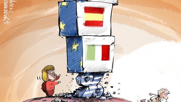 Křehký základ EU - Sputnik Česká republika