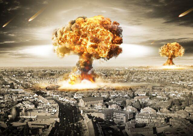 Výbuch