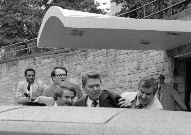 Atentát na prezidenta USA Ronalda  Reagana , 1981