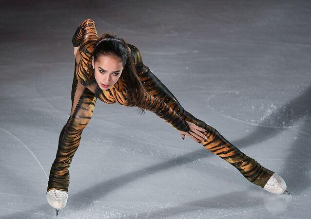 Světová šampionka Alina Zagitová