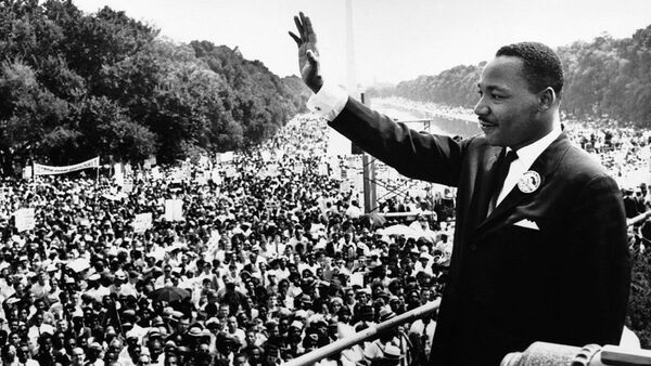 Martin Luther King - Sputnik Česká republika