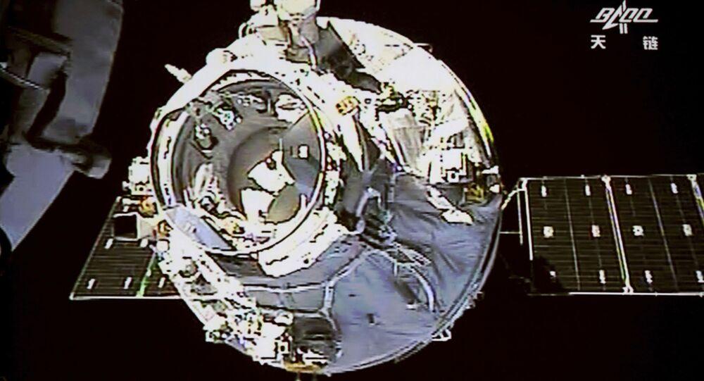 Čínská vesmírná stanice Tchien-kung 1