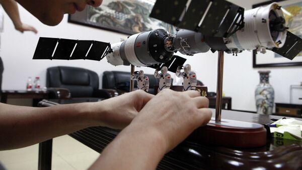 Spojení kosmické lodě Shenzhou 9 s vesmírnou stanicí Tchien-kung 1 - Sputnik Česká republika
