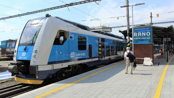 Vlak v Brně. Ilustrační foto - Sputnik Česká republika