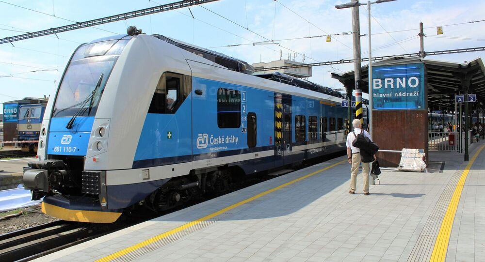 Vlak v Brně. Ilustrační foto