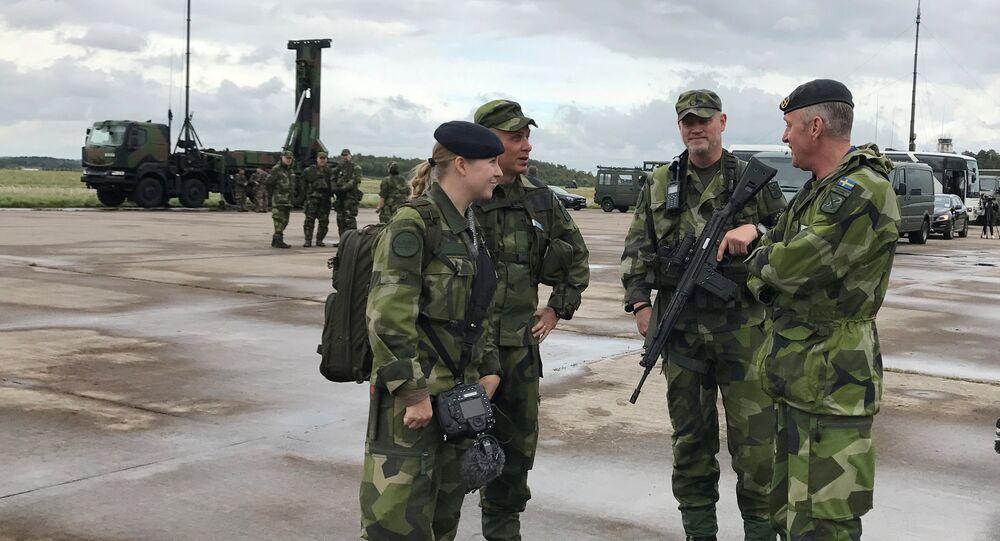 Švédští vojáci. Ilustrační foto