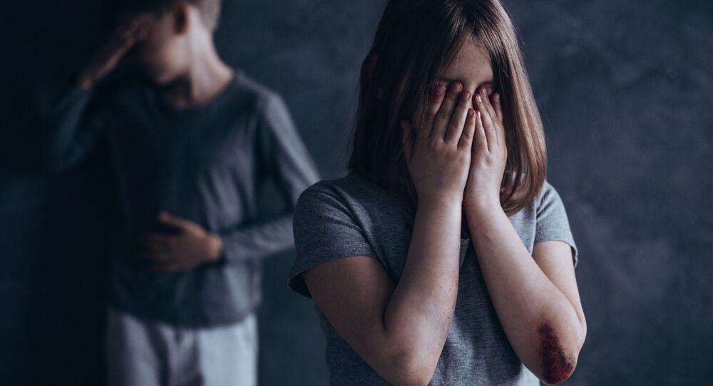 Děti pláčou