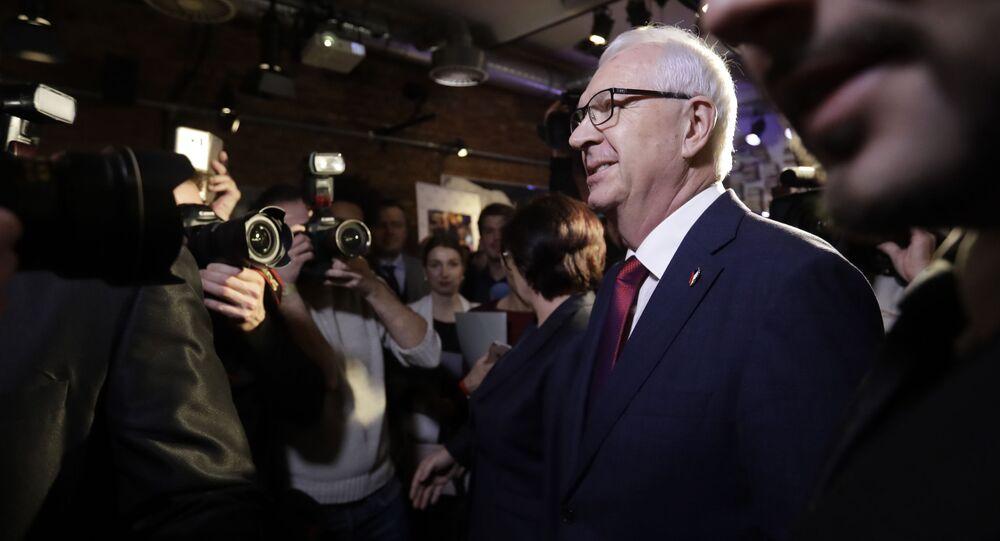 Senátor a prezidentský kandidát z roku 2018 Jiří Drahoš