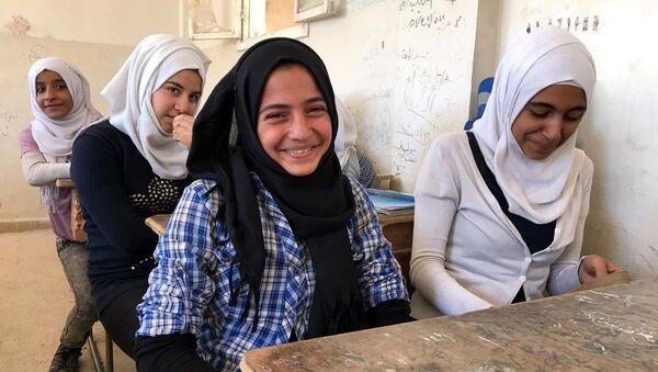 V syrské škole - Sputnik Česká republika