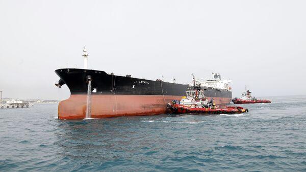 Íránský ropný tanker - Sputnik Česká republika