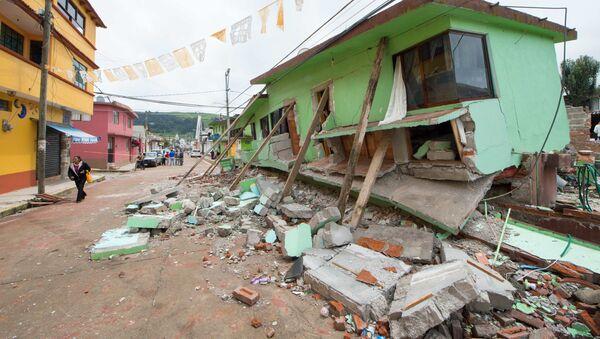 Zemětřesení v Mexiku - Sputnik Česká republika