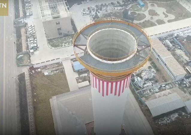 V Číně začala fungovat největší čistička vzduchu na světě