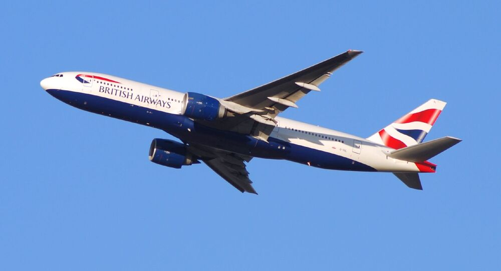 British Airways Boeing 777. Ilustrační foto