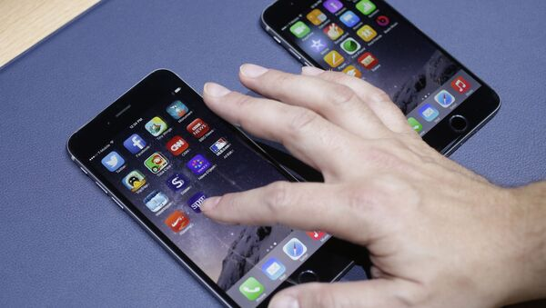 iPhone 6 plus - Sputnik Česká republika