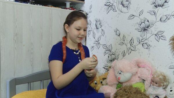 Ruská dívka má raději hady než panenky - Sputnik Česká republika